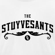 """Design ~ Mens """"The Stuyvesants"""" Logo Tee White"""