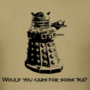 Doctor Who--Tea Dalek - Men's T-Shirt