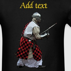 Knight fighting action T-Shirts - Men's T-Shirt