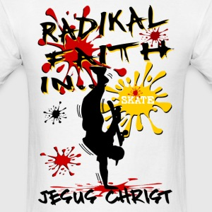 Jesus Radikal Faith  - Men's T-Shirt