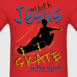 Jesus Skateboard - Men's T-Shirt