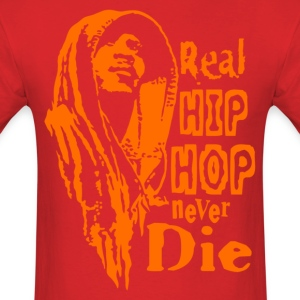 Real hip hop orange T-Shirts - Men's T-Shirt