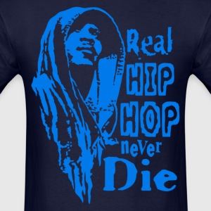 Real hip hop blue T-Shirts - Men's T-Shirt