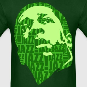 Jazz only green T-Shirts - Men's T-Shirt