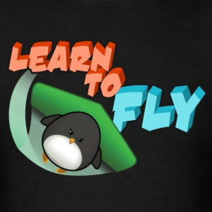Learn to Fly T-Shirts - Men's T-Shirt