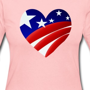 American Heart - Women's Long Sleeve Jersey T-Shirt