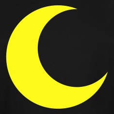 crescent moon T-Shirts
