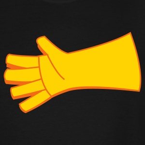 two color glove  T-Shirts - Men's Tall T-Shirt