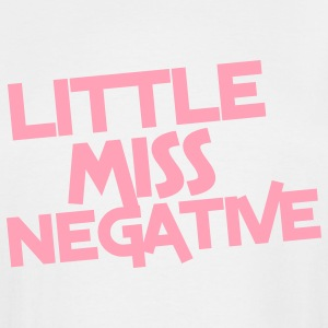 little miss negative T-Shirts - Men's Tall T-Shirt