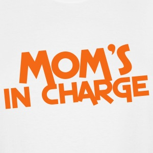 mom's in charge T-Shirts - Men's Tall T-Shirt