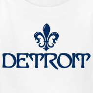 Design ~ Fleur De Lis Detroit Children's T-Shirt