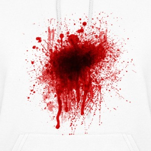 Blood Splatter Hoodies - Women's Hoodie