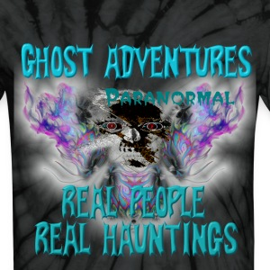Ghost Adventures Real People Real Huntings T-Shirts - Unisex Tie Dye T-Shirt