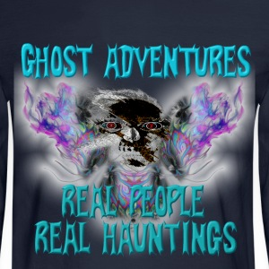 Ghost Adventures Real People Real Huntings Long Sleeve Shirts - Men's Long Sleeve T-Shirt