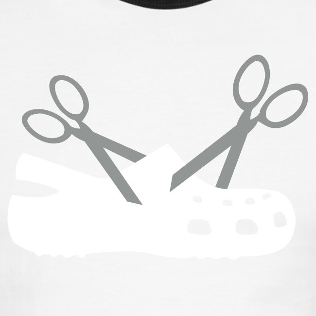 New Scissor Croc Ringer Tee