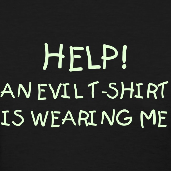 EVIL T-SHIRT (Glow In The Dark)