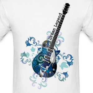 Urban legend Grunge Guitar Short Sleeve T-Shirt - Men's T-Shirt