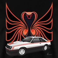 Design ~ 1980 Mustang Cobra - Polar White - FRONT