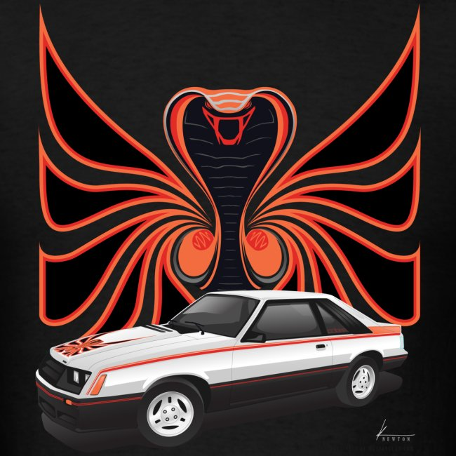 1980 Mustang Cobra - Polar White - FRONT