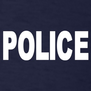 Police-White T-Shirts - Men's T-Shirt