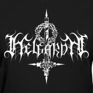 Design ~ Helgardh Crucifix Logo Women's T