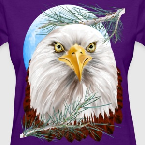 Eagle In The Pines - Women's T-Shirt