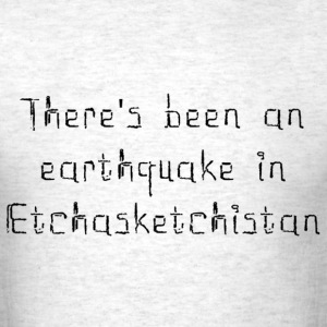 Earthquake T-Shirts - Men's T-Shirt