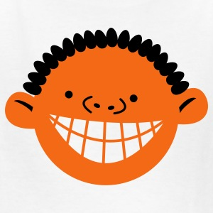 cute kids face with a big cheesy toothy smile Kids' Shirts - Kids' T-Shirt