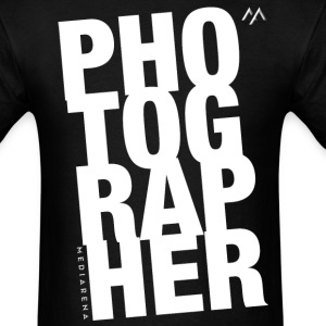 Photographer T-shirt - Men's T-Shirt