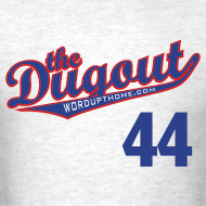 Design ~ F4rnsw0rth #44 (Kyle Farnsworth) Cubs Dugout T (Ash)