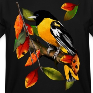 Oriole In Fall - Men's Tall T-Shirt