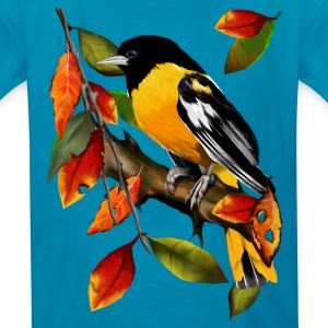 Oriole In Fall - Kids' T-Shirt