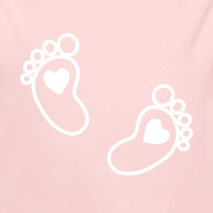 baby feet Baby Bodysuits - Long Sleeve Baby Bodysuit