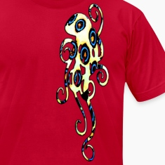 blue ring octopus T-Shirts