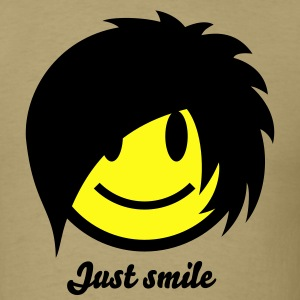Smiley Emo (Boy) Icon 2c T-Shirts - Men's T-Shirt