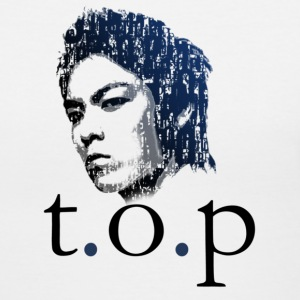 Big Bang - TOP Typo - Women's V-Neck T-Shirt