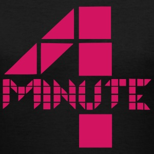 4Minute - Logo - Women's V-Neck T-Shirt