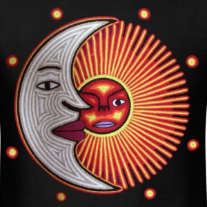 Sun and Moon - Men's T-Shirt