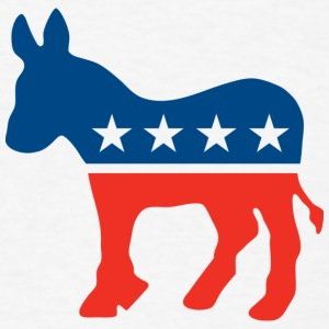 Democrat Logo T-Shirt - Men's T-Shirt