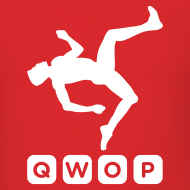 Design ~ Budget Men's QWOP Logo T-shirt