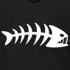 Fish Bone Zip Hoodies/Jackets - Men's Zip Hoodie