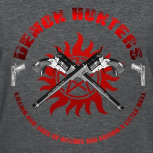 Demon Hunters killing evil sons of bitches and raising a little Hell Red Women's T-Shirts - Women's T-Shirt