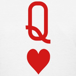 Queen of hearts Women's T-Shirts - Women's T-Shirt