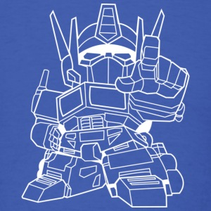 Cool Robot Transformers T-Shirt - Men's T-Shirt
