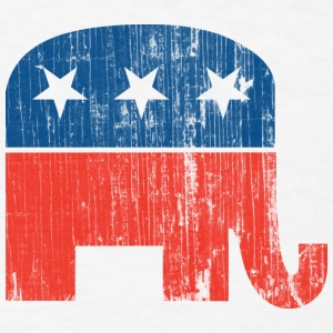 Vintage Republican Logo T-Shirt - Men's T-Shirt