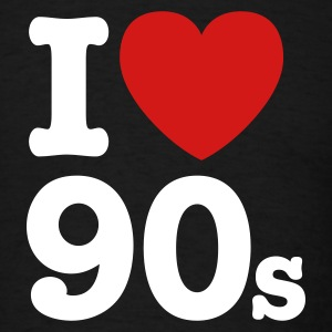 I love the 90's T-Shirts - Men's T-Shirt