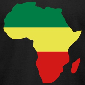 Africa Reggae T-Shirts - Men's T-Shirt by American Apparel