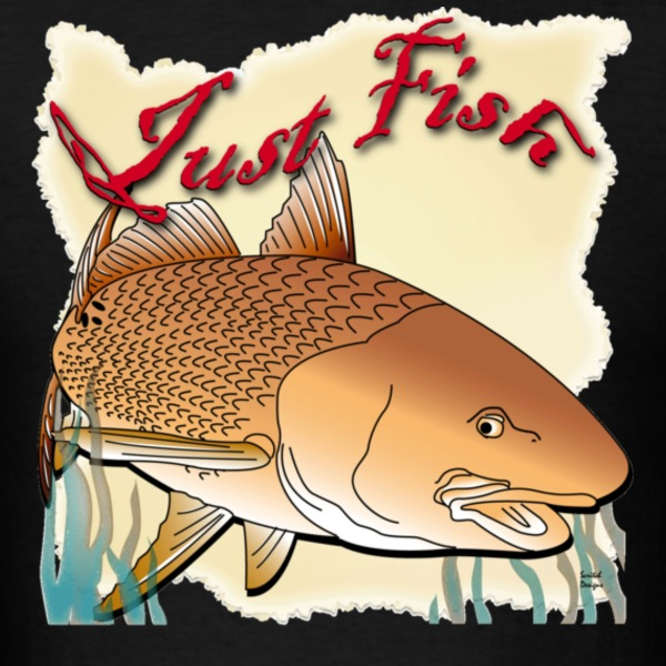 Just Fish Redfish tan - Men's T-Shirt