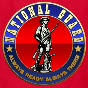 US National Guard (USNG) Emblem - Kids' T-Shirt