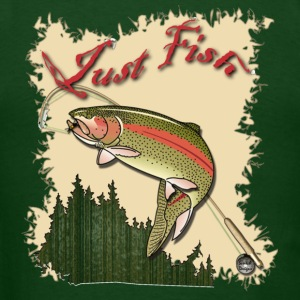 Just Fish Trout shirt - Men's T-Shirt